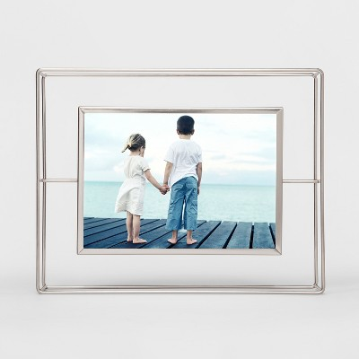 Wire Single Image Frame 5x7 Silver - Project 62™