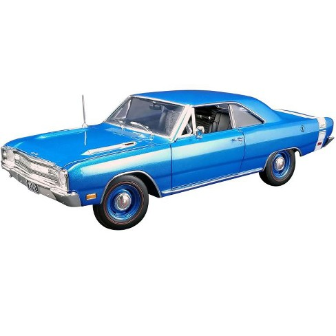 1969 Dodge Dart GTS 440 B5 Blue Metallic with White Stripe Limited Edition to 666 pieces 1/18 Diecast Model Car by ACME - image 1 of 4