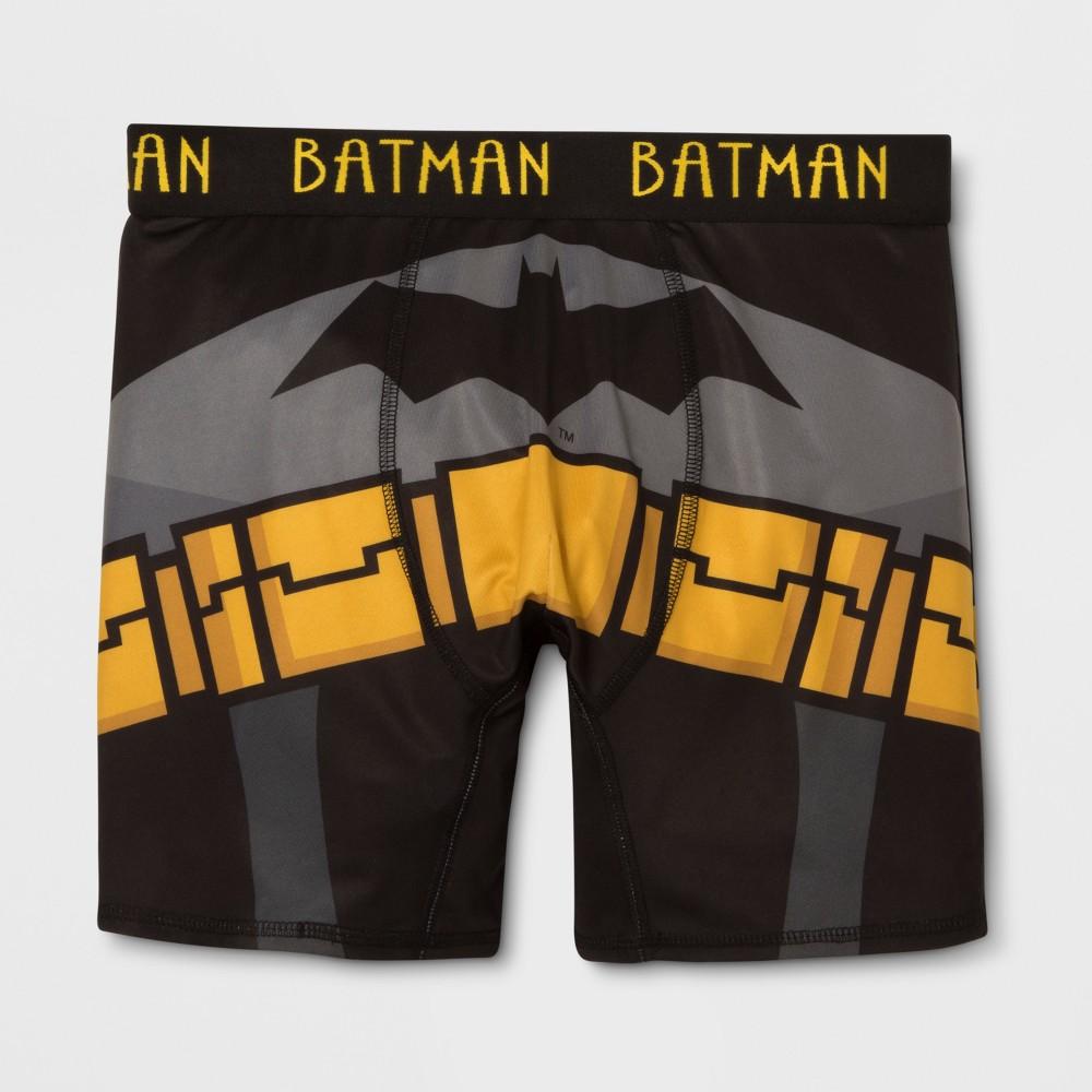 Men's Batman Justice League Boxer Briefs - Black L