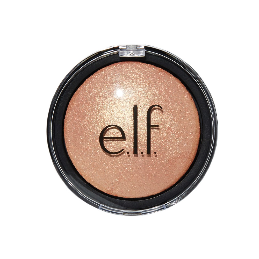 Image of e.l.f. Baked Highlighter Apricot Glow - 0.17oz, Pink Glow