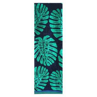 XL Leaf Beach Towel Clover