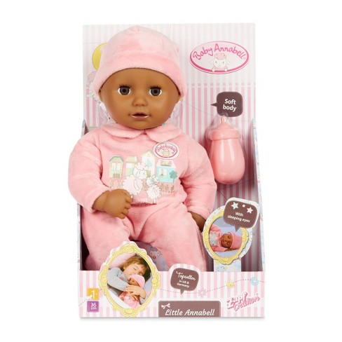 My First Baby Annabell with Brown Eyes Soft-Bodied Baby Doll - image 1 of 4