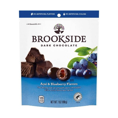 Brookside Acai with Blueberry Flavors Dark Chocolate - 7oz