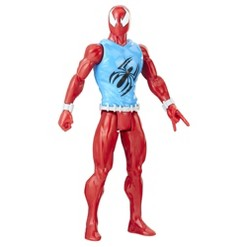 Spider-Man Titan Hero Series Blast Gear Web Warriors Marvel's Scarlet Spider