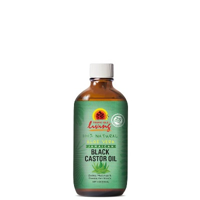 Tropic Isle Living Jamaican Black Castor Body Oil Aloe - 4 fl oz