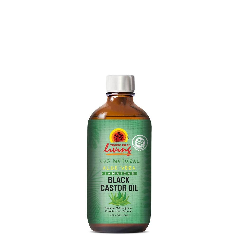Image of Tropic Isle Living Jamaican Black Castor Body Oil Aloe - 4 fl oz