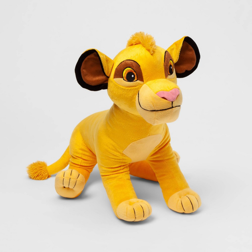 Image of The Lion King Simba Bed Pillow Brown