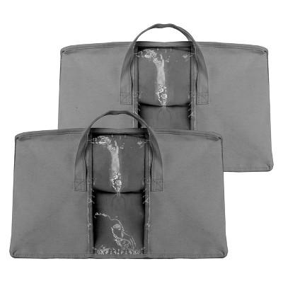 2pk Sorbus Storage Organizer Set Gray