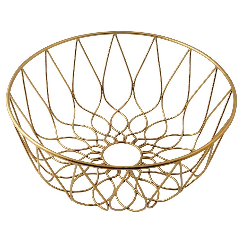 Thirstystone Wire Basket - Gold