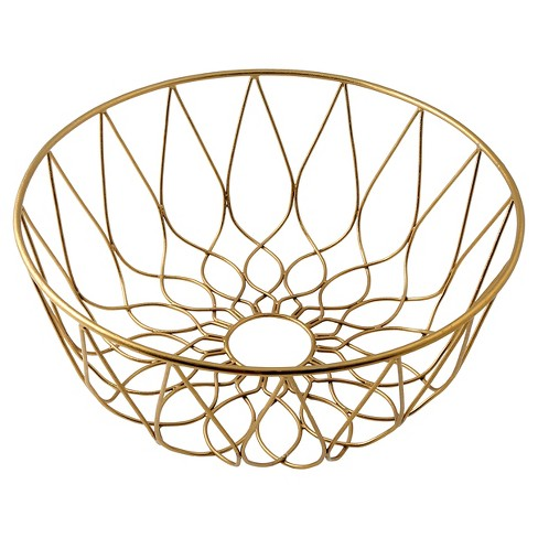 Thirstystone Wire Basket - Gold - image 1 of 4