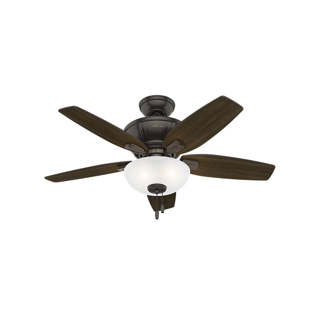 Image of 42 Kenbridge Noble Led Lighted Ceiling Fan Bronze - Hunter Fan