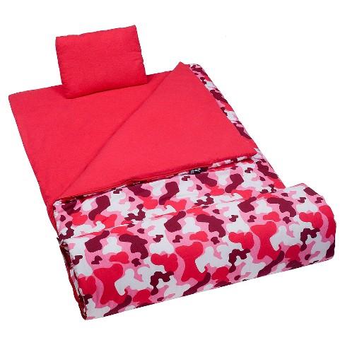 WildKin Camo Pink Original Sleeping Bag - image 1 of 2