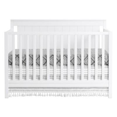 Oxford Baby Lazio 4-in-1 Crib - Snow White