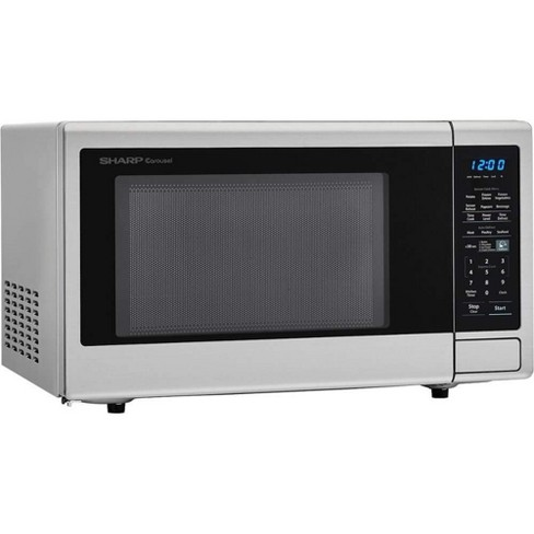 Sharp Carousel 1.4 Cu Ft Countertop 1000W Microwave Oven (Certified Refurbished) - image 1 of 4
