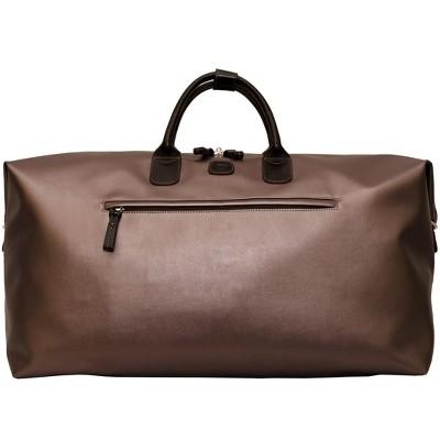 "Bric's X-Bag Carry On Deluxe Duffle Bag Metallic Bronze, 22"""