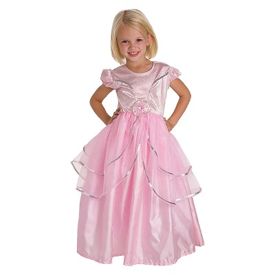 Little Adventures Girls' Royal Pink Princess Dress - M