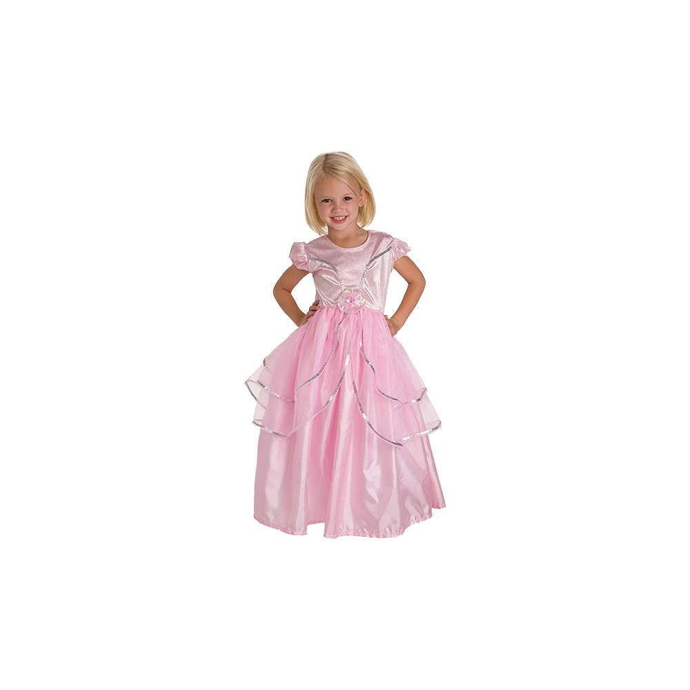 Little Adventures Kids Royal Pink Princess Dress XL, Girl's, Size: X-Large (Age 7-9)