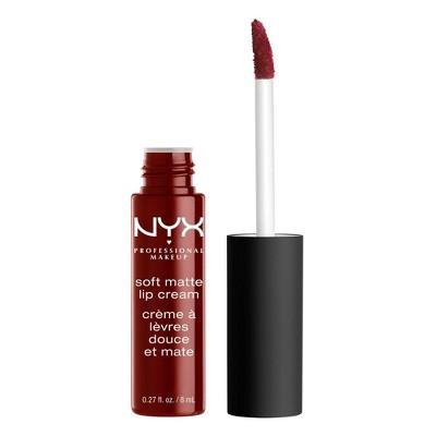 Lip Makeup: NYX Soft Matte Lip Cream