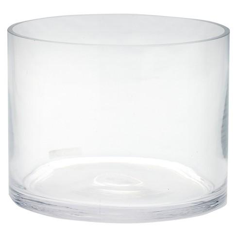 Diamond Star Glass Cylinder Vase Clear 6x6x8 Target