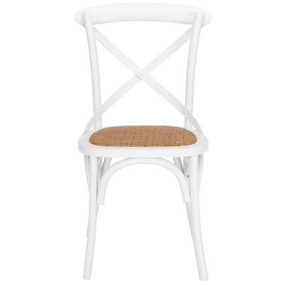 Donovan Mid-Century Crossback Chair - Poly & Bark