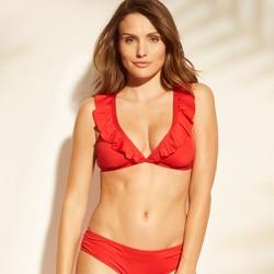 Women's Ruffle Bralette Bikini Top - Shade & Shore™
