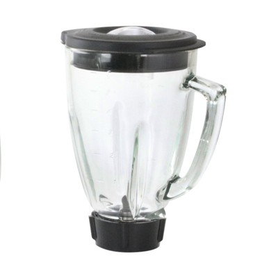 Better Chef 6 Piece 59 Oz Square Blender Glass Jar Replacement Kit