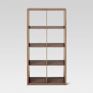 "13"" 8 Cube Organizer Shelf Weathered Gray - Threshold™"