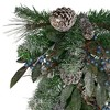 """Northlight 28"""" Mixed Pine and Blueberries Artificial Christmas Swag - Unlit - image 2 of 3"""