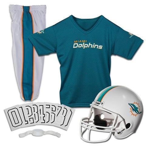Franklin Sports NFL Miami Dolphins Deluxe Uniform...   Target 531c934cc