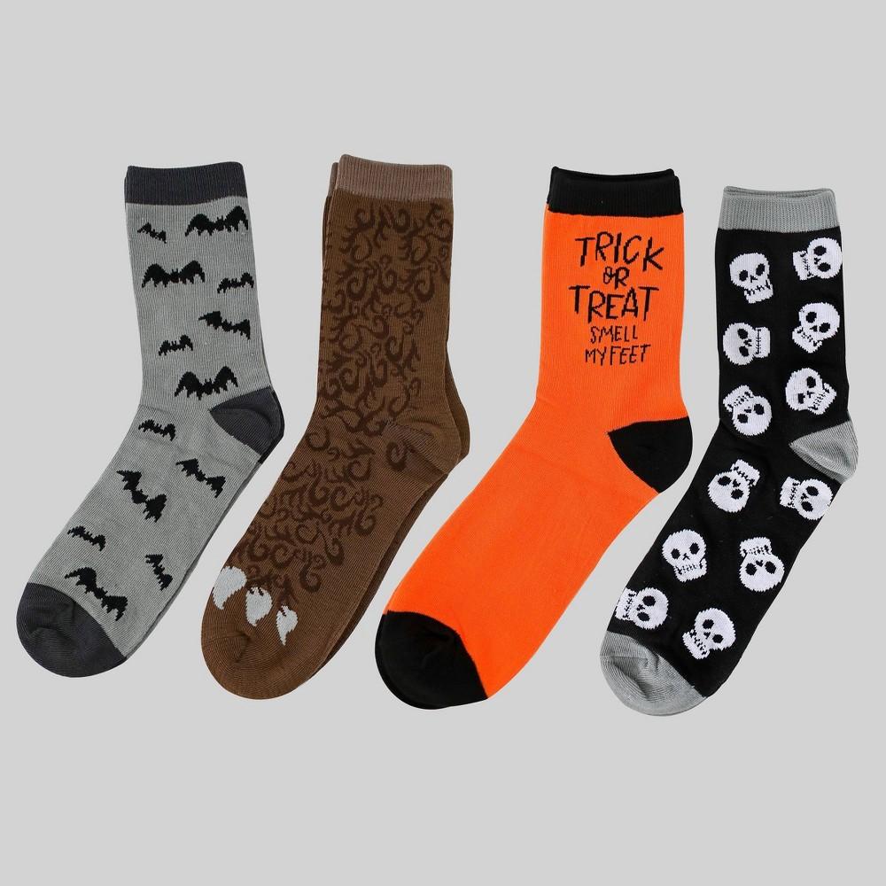 4pk Men's Halloween Socks - Bullseye's Playground was $12.0 now $6.0 (50.0% off)