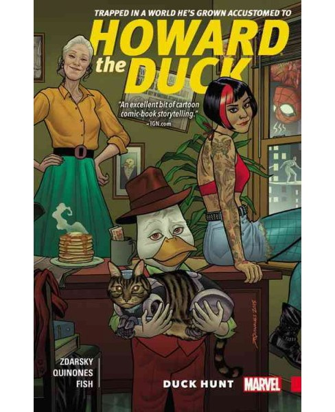 Howard the Duck 1 : Duck Hunt (Paperback) (Chip Zdarsky) - image 1 of 1