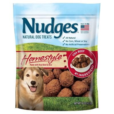 Nudges Beef Meatball Dog Treat - 16oz
