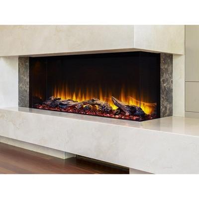 SimpliFire 43-In Scion Trinity Linear Electric Fireplace - SF-SCT43-BK
