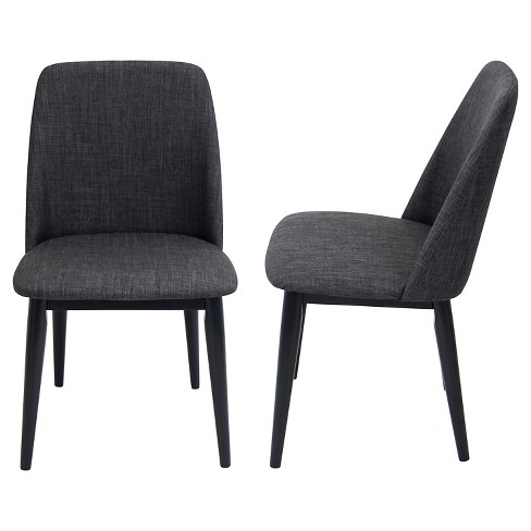 Set of 2 Tintori Mid-Century Modern Dining Chairs - LumiSource - image 1 of 5