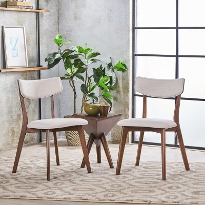 Set Of 2 Chazz Mid-Century Dining Chair - Christopher Knight Home : Target