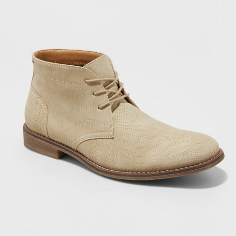Men's Kordell Chukka Boots - Goodfellow & Co™ Tan - image 1 of 3