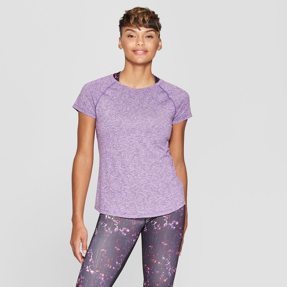 Women's Short Sleeve Soft T-Shirt - C9 Champion Purple Heather XL