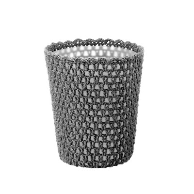 Solid Bathroom Wastebasket Gray - Opalhouse™