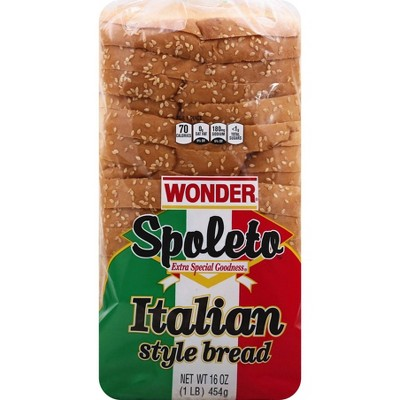 Wonder Spoleto Italian Style Bread - 16oz