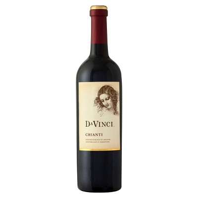 DaVinci Chianti Red Wine - 750ml Bottle