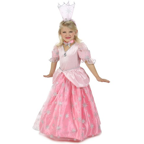 The Wizard Of Oz Glinda The Good Witch Girls Halloween Costume