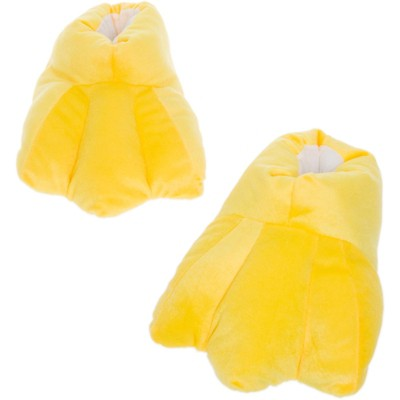 FUNZIEZ! - Men's Duck Feet Animal Slippers
