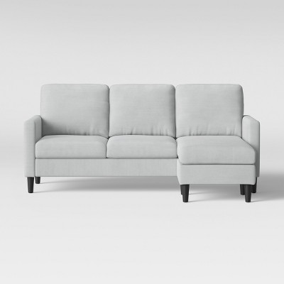 Bellingham Sofa With Chaise Light Gray - Project 62™