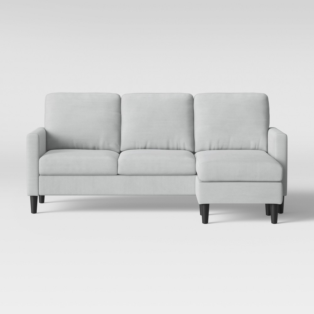 Terrific Bellingham Sofa With Chaise Light Gray Project 62 Inzonedesignstudio Interior Chair Design Inzonedesignstudiocom