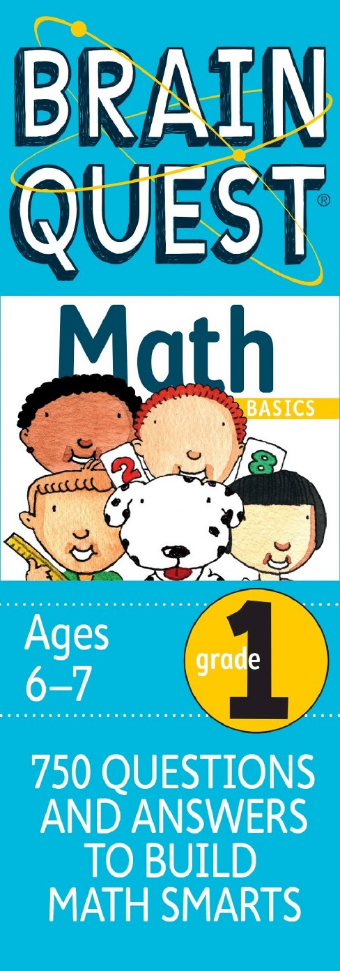 Brain Quest Math Basics Grade 1 by Marjorie Martinelli - image 1 of 1