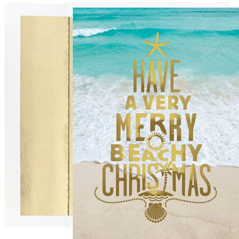 about this item - Beach Themed Christmas Cards
