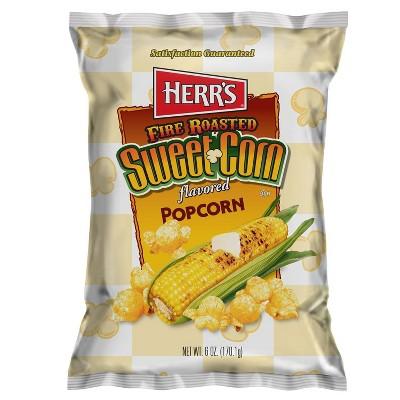 Herr's Fire Roasted Sweet Corn Popcorn - 6oz