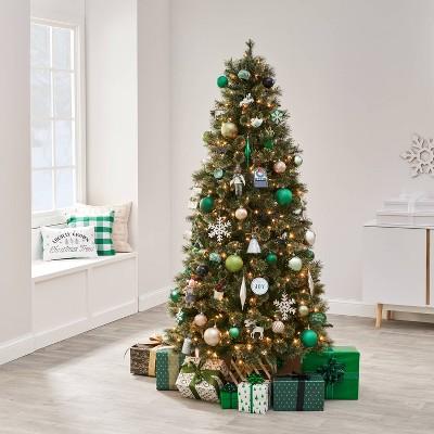 85pc Snowed In Green Christmas Ornament Kit - Wondershop™