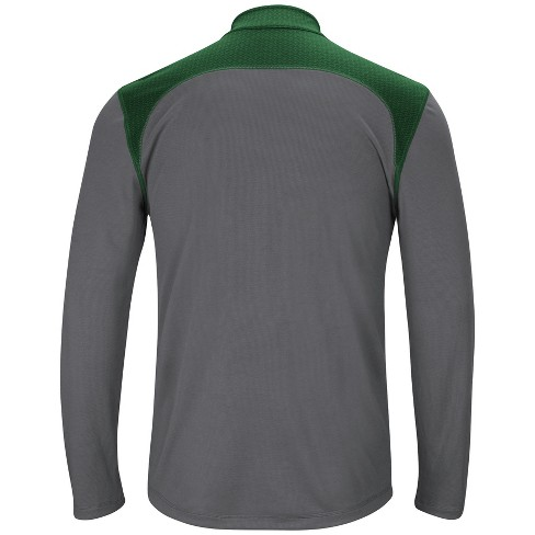 8204cb7ab12 Green Bay Packers Men s Classic Victory Quarter Zip Pullover - S   Target