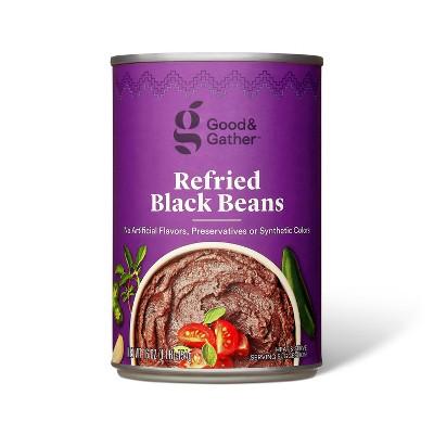 Refried Black Beans 16oz - Good & Gather™